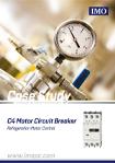 Case Study - C4 Motor Circuit Breakers Refrigeration Motor Control