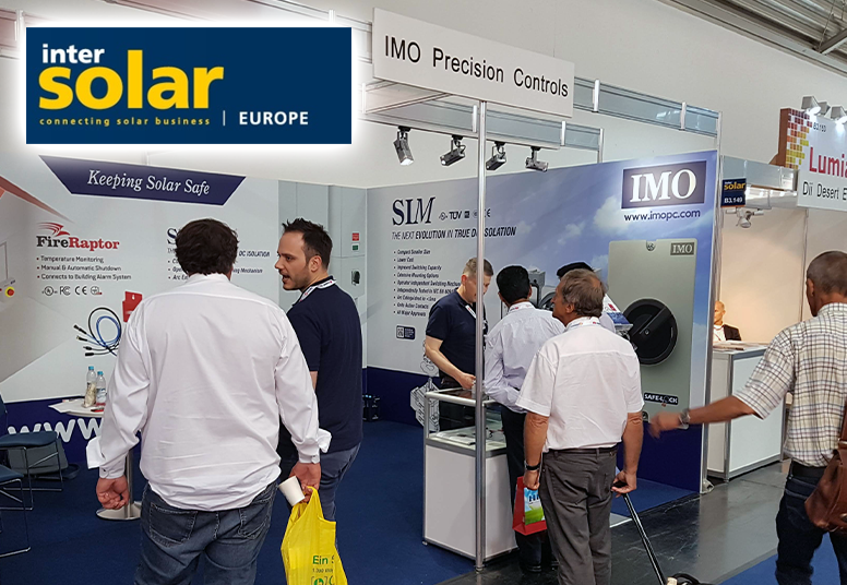 IMO Exhibits At Intersolar 2018