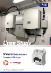 Case Study - SI True DC Solar Isolators in a Commercial Application