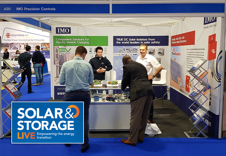 IMO at Solar & Storage Live 2018