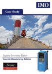 Case Study - Trent Concrete look to IMO Jagaur Drives to deliver